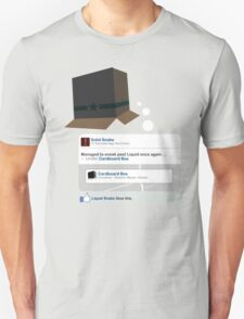 Metal Gear - Status Update T-Shirt
