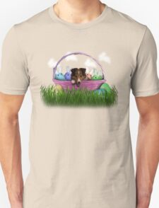 Easter Sheltie Puppy T-Shirt