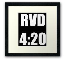 RVD 420 Framed Print
