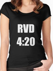 RVD 420 Women's Fitted Scoop T-Shirt