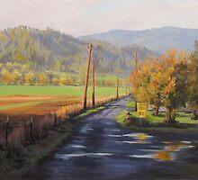Country Life Paintings by Karen Ilari by Karen Ilari