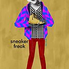 Sneaker Freak Lemur by Dyna Moe