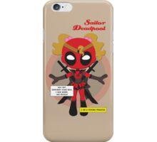 Sailor Deadpool - Avengers iPhone Case/Skin