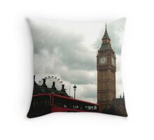 Essence of London Throw Pillow
