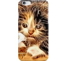 Wild nature - pussy #13 iPhone Case/Skin