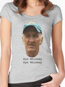 Rye Whiskey  Women's Fitted Scoop T-Shirt