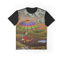 Autumn (Fox and Girl) Graphic T-Shirt