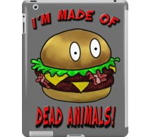 Meat Tastes Good.  iPad Case/Skin
