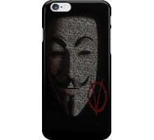 Remember Remember the fifth of November iPhone Case/Skin