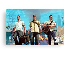 Gta v poster Canvas Print