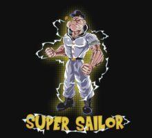 Super Sailor One Piece - Short Sleeve
