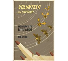 Volunteer for capture Photographic Print