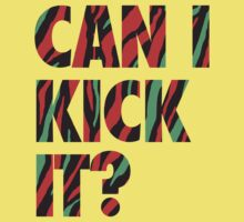 Just Kick It?  Kids Clothes