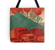 Victory is Just a Few Hops Away Tote Bag