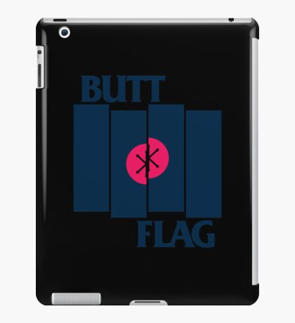 Butt Flag iPad Case/Skin