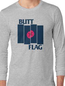 Butt Flag Long Sleeve T-Shirt