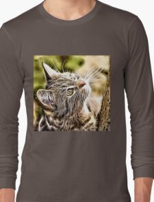 Wild nature - pussy #3 Long Sleeve T-Shirt