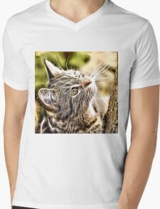 Wild nature - pussy #3 Mens V-Neck T-Shirt