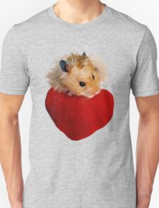 Hamster with Heart T-Shirt