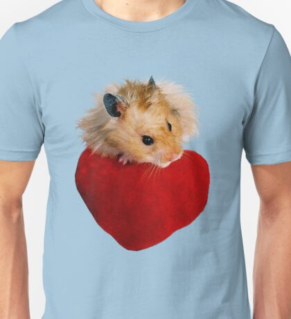 Hamster with Heart Unisex T-Shirt