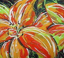 Wild Tiger Lilies by Ira Mitchell-Kirk