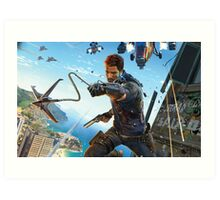 Just cause 3 Poster Art Print