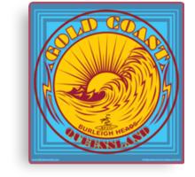 GOLDCOAST, QUEENSLAND, SURFING Canvas Print