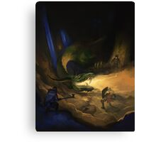Dragon Warriors Bestiary Canvas Print