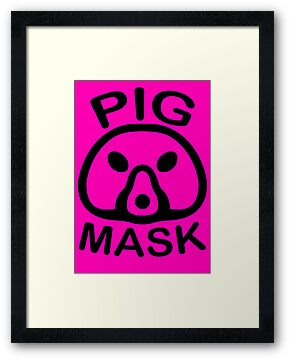 Pigmask (Black) by sheakennedy