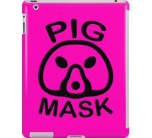 Pigmask (Black) iPad Case/Skin