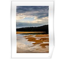 sunset at cuttagee, bermagui Poster