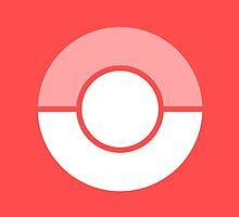 Pokemon Go Pokeball Accessories - Red by Pelloneus
