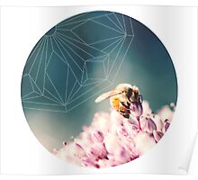 Bee Calm Poster