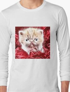 Wild nature - pussy #4 Long Sleeve T-Shirt