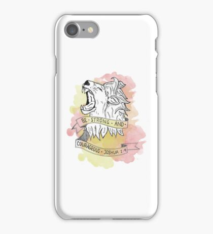 Strength & Courage iPhone Case/Skin
