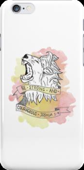 Strength & Courage by samjaynee