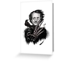 Edward Allan Poe Greeting Card