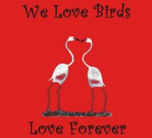 Birds In Love T shirt Special  One Piece - Long Sleeve