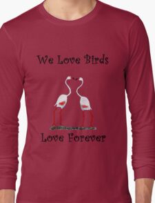 Birds In Love T shirt Special  Long Sleeve T-Shirt
