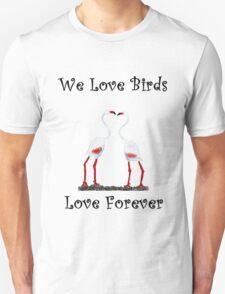 Birds In Love T shirt Special  Unisex T-Shirt