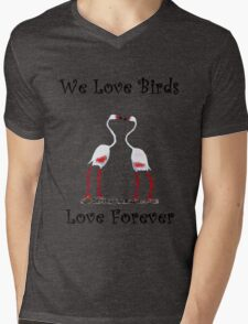 Birds In Love T shirt Special  Mens V-Neck T-Shirt
