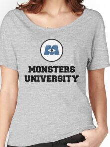 Monsters University Women's Relaxed Fit T-Shirt