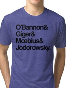 Jodorowsky's Dune - O'Bannon, Giger, Moebius and Jodorowski Tri-blend T-Shirt