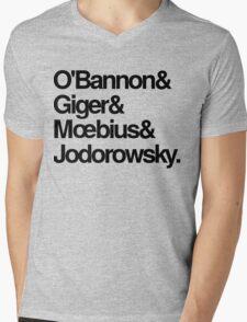 Jodorowsky's Dune - O'Bannon, Giger, Moebius and Jodorowski Mens V-Neck T-Shirt