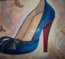 Christian Louboutin Red Bottom Heel  by Arts4U