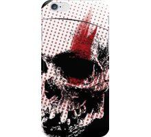 Trash Polka Skull  iPhone Case/Skin