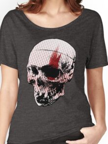 Trash Polka Skull  Women's Relaxed Fit T-Shirt