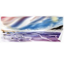 Digital Airbrush Sea picture version 2 Poster