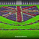 Union Jack Flowers by thepicturedrome
