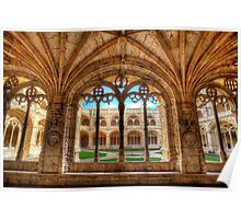 Cloisters Of Monastery dos Jeronimos Poster